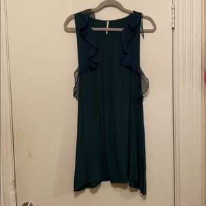 Free People Emerald Shift dress with open sides